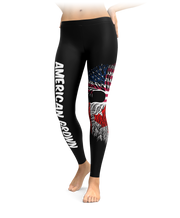American Grown With Canadian Roots Leggings
