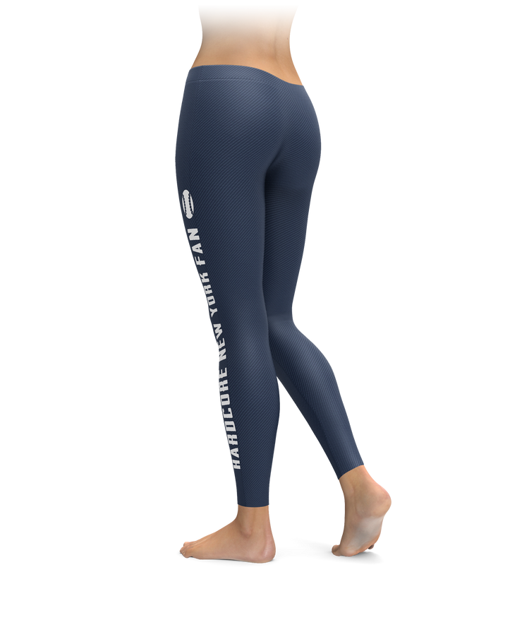 Hardcore New York Fan Baseball Leggings