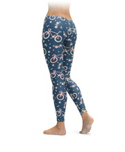 Floral Bike Leggings