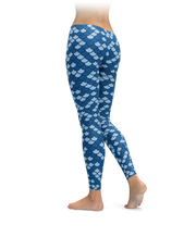 Kansas City Mermaid Scale Leggings