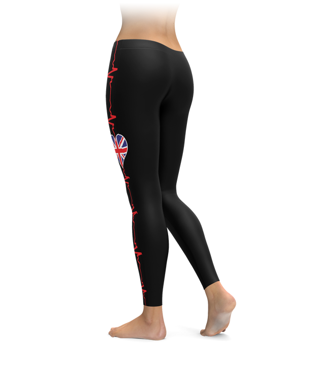 UK Heartbeat Leggings