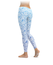 Cool Blue Tentacles Leggings