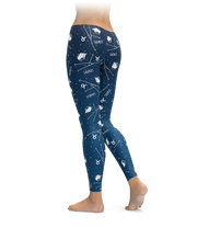 Taurus Zodiac Sign Leggings