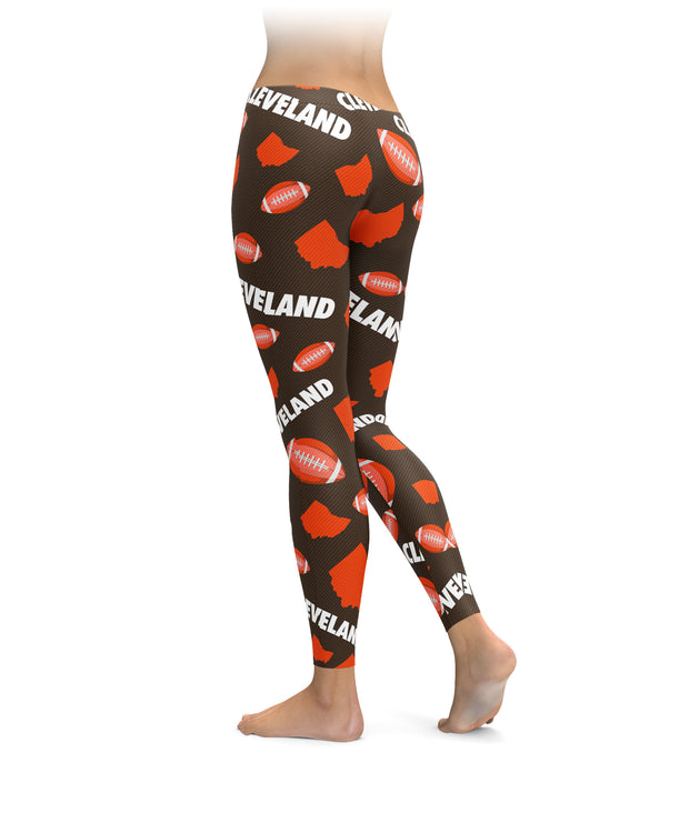Cleveland Football Icons Leggings