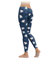 Adorable Bichon Frise Leggings