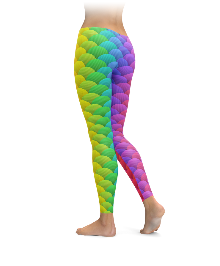 Rainbow Scales Leggings