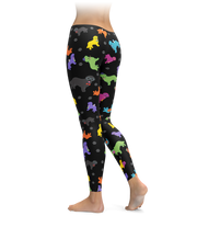 Colorful Newfie Leggings