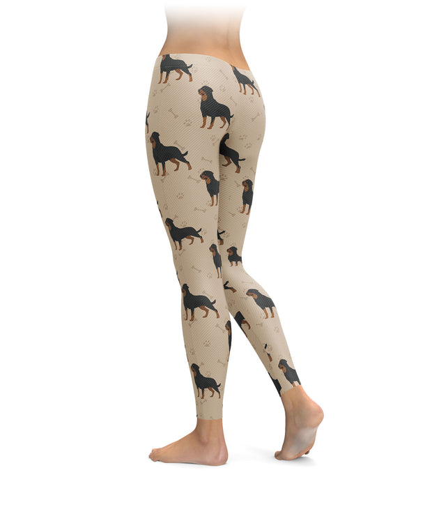 Rotties, Paws, & Bones Leggings