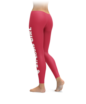 St. Louis Girl Baseball Leggings