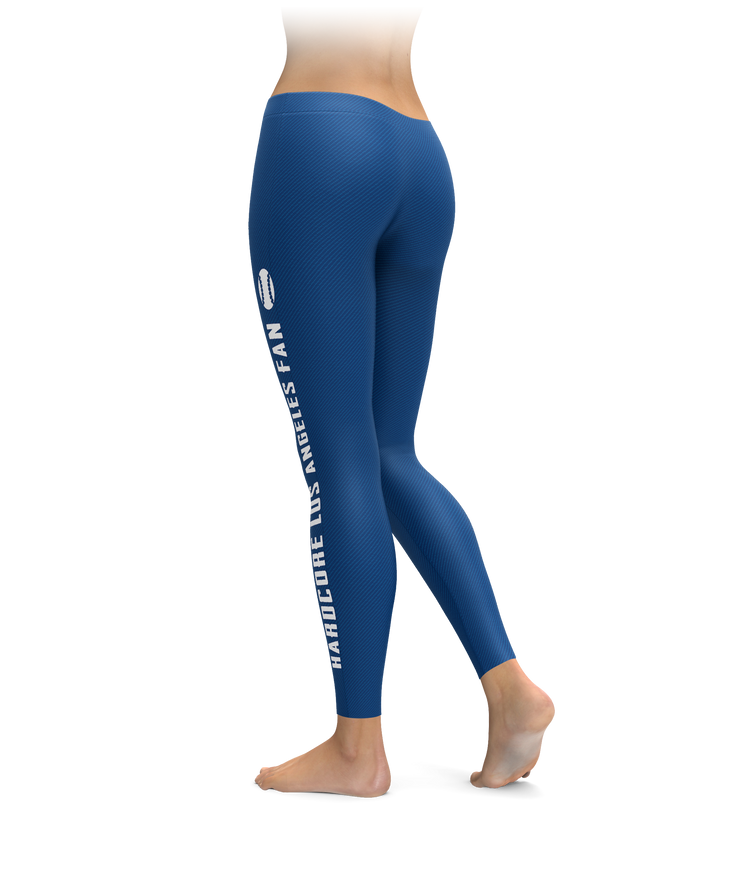 Hardcore Los Angeles Fan Baseball Leggings