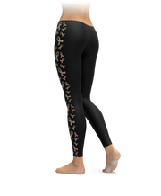 Autism Awareness Ribbon Side Stripe Leggings