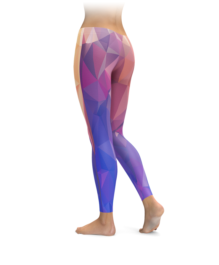 Abstract Polygon Leggings