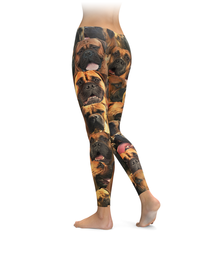 Bullmastiffss on Bullmastiffss on Bullmastiffss Leggings