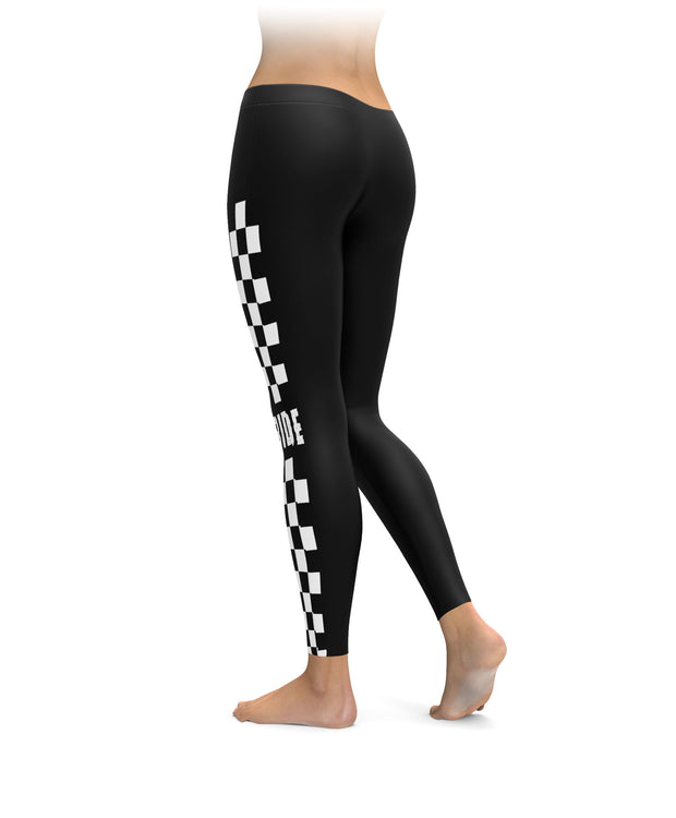 Checkered Ride Leggings