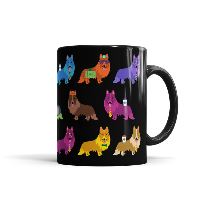 Colorful Sheltie Mug