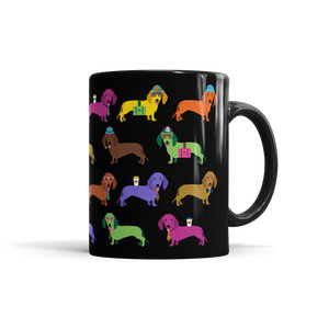 Colorful Dachshund Mug