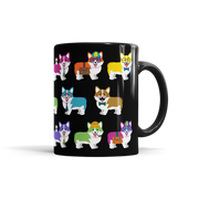 Colorful Corgi Mug
