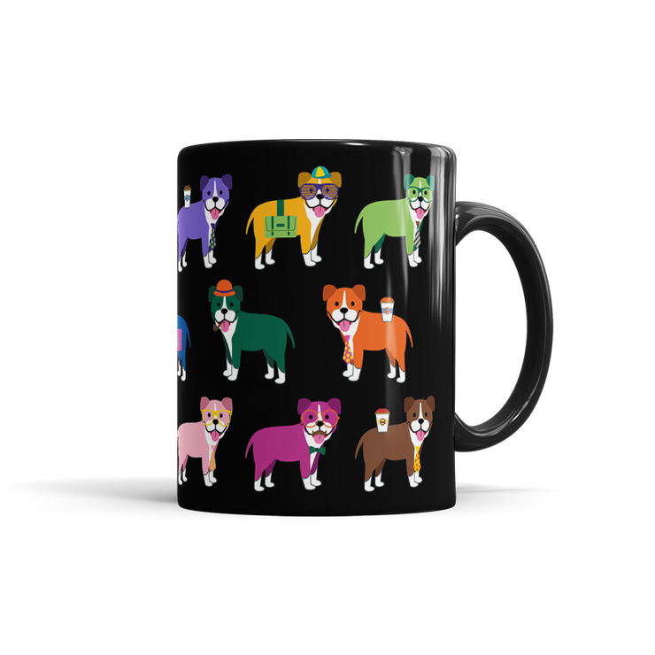 Colorful Boxer Mug