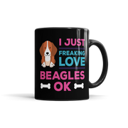 I Just Freaking Loves Beagles, OK?