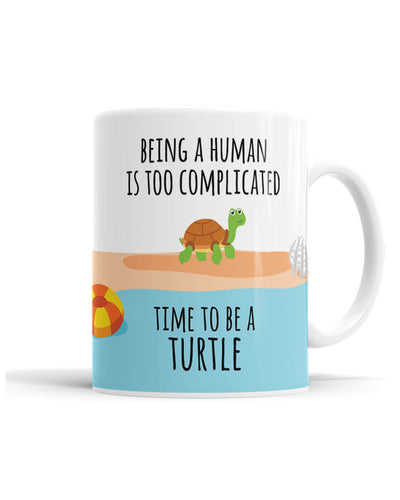 Being A Human Is Too Complicated, Time To Be A Turtle