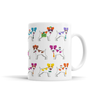 Colorful Jack Russell Terrier Mug