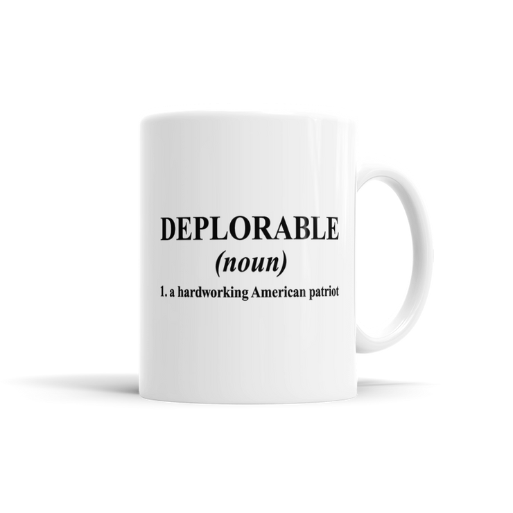Deplorable Definition