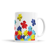 Autism Puzzle Pieces Mug