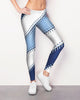 Tampa Bay Baseball Stitch Leggings