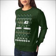 Paramedics and EMTs Ugly Christmas Sweater - Holidays