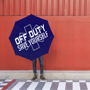 Off Duty - Save Yourself Foldable Umbrella