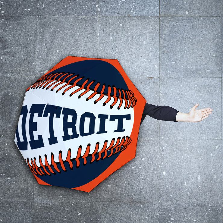 Detroit Baseball Foldable Umbrella