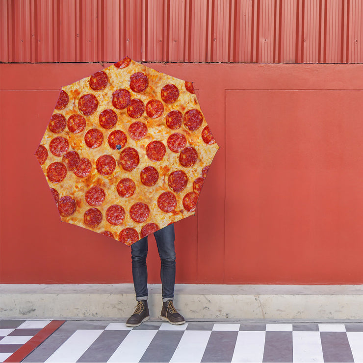 Pepperoni Pizza Foldable Umbrella