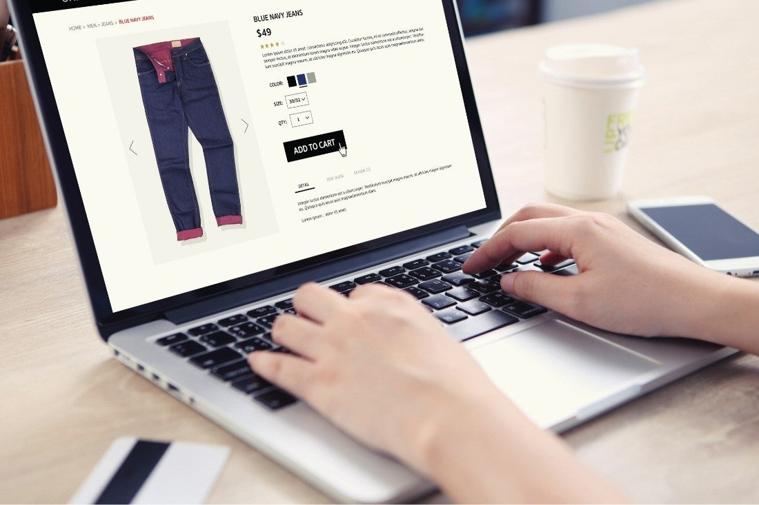 Ecommerce website example