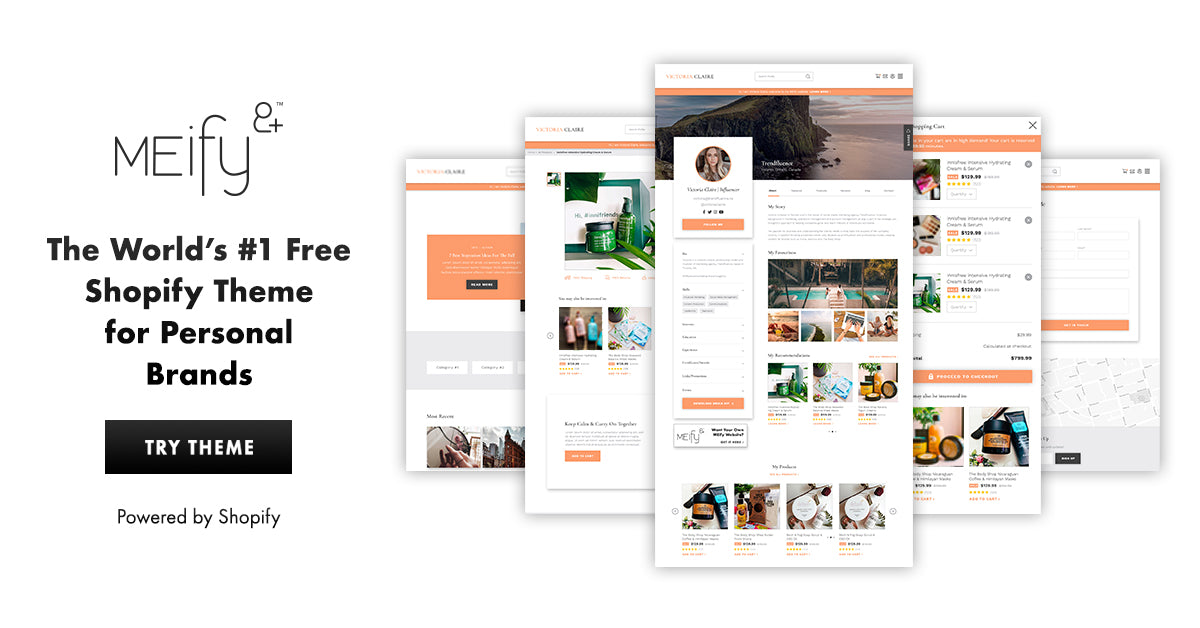 Sample MEify Theme for Shopify