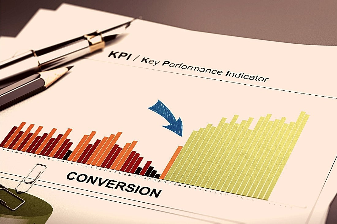 Report Showing Improved Conversion Rates