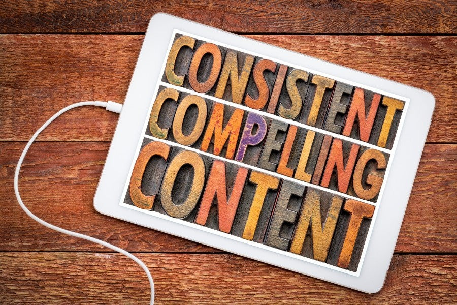 Consistent Compelling Content