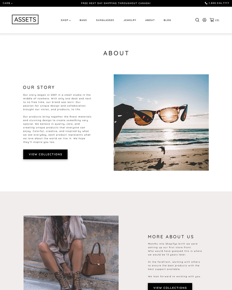 Jewelry & Accessories Shopify Theme