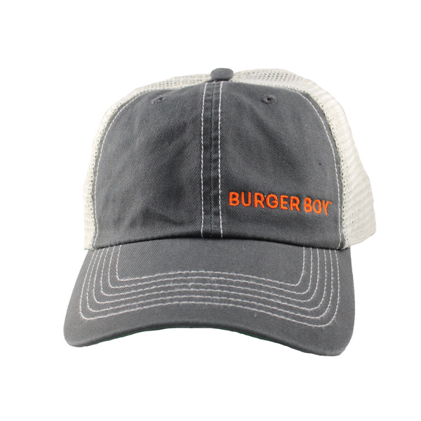 Side-Embroidered Trucker Cap