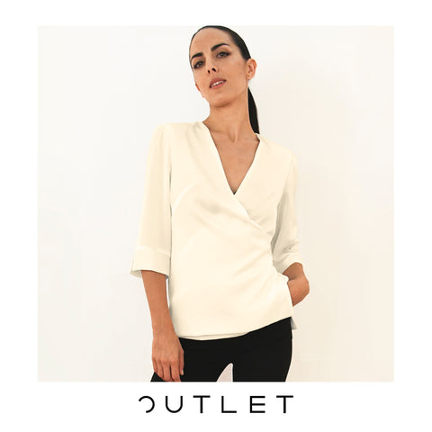 OUTLET - Blusa Nº4 color nude
