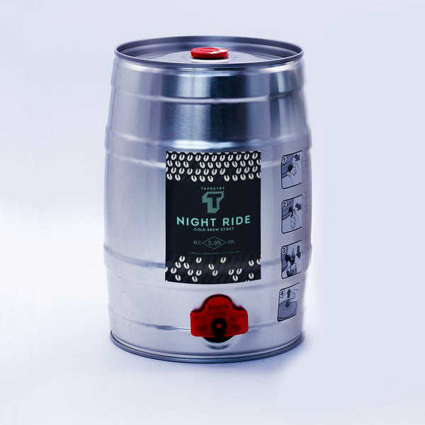 COMING SOON - NIGHT RIDE - 5L MINI KEG