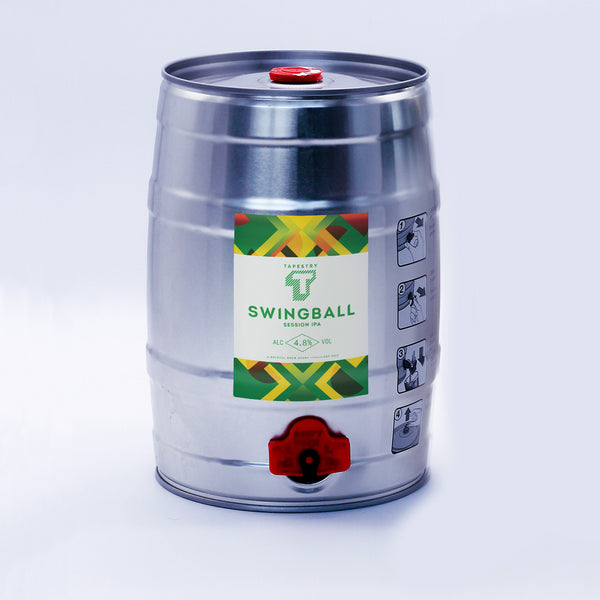 COMING SOON - SWINGBALL - 5L MINI KEG