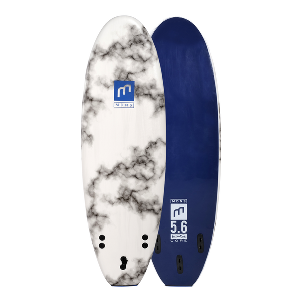 MDNS SURF - Softboards - 5'6 EPS Core Marble/Navy