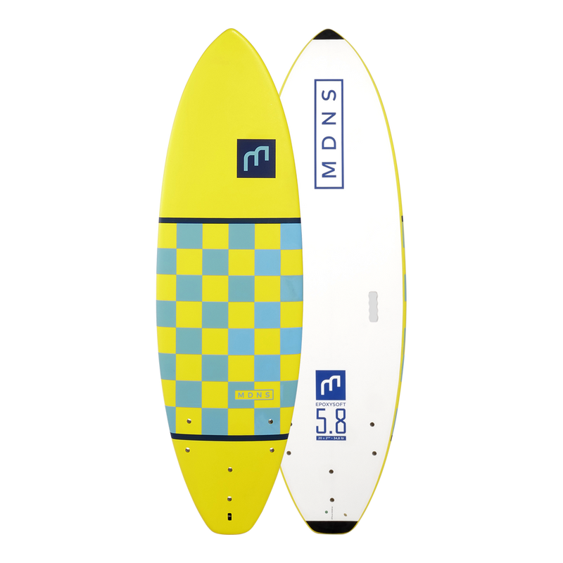 5'8 EPOXY SOFT - SOFTBOARDS
