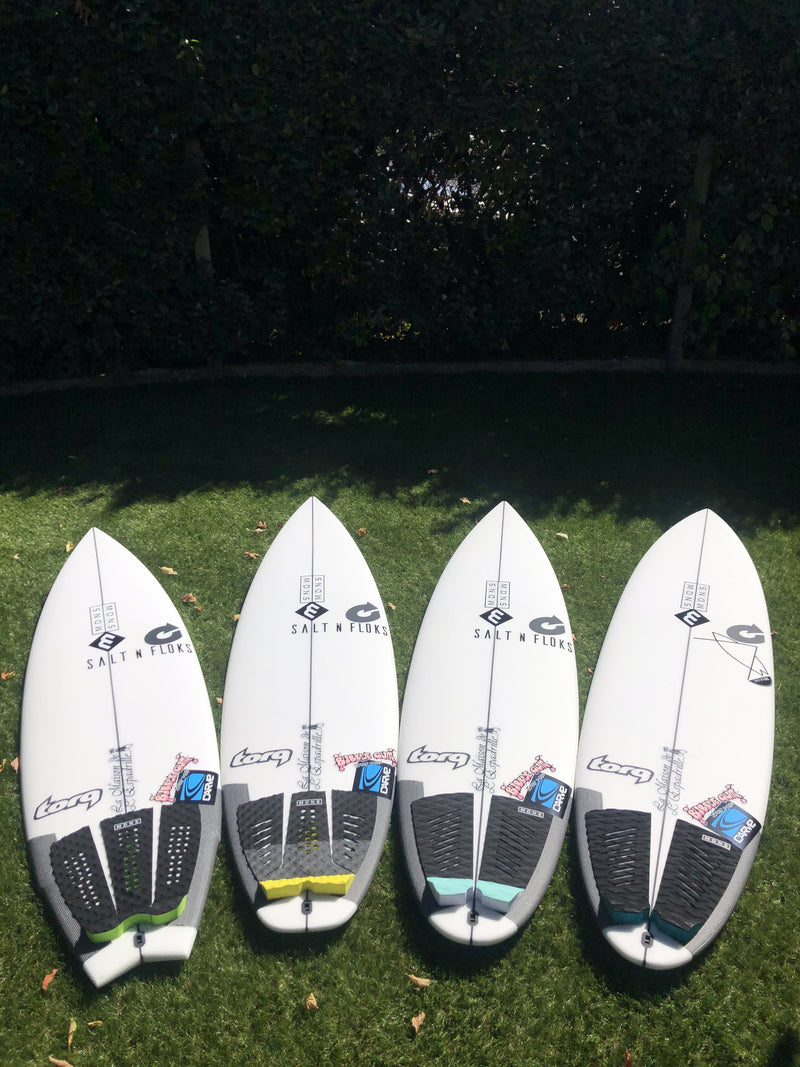 MDNS SURF - Surf Accessories - Tail Pad Circuit - Three Pieces