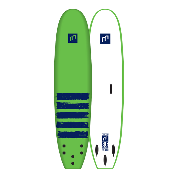 8'6 HD CORE - SOFTBOARDS