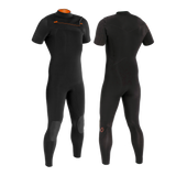 PRIIME MEN 2/2 CHESTZIP SHORT SLEEVE STEAMER - MEN'S SUPERSTRETCH WETSUITS