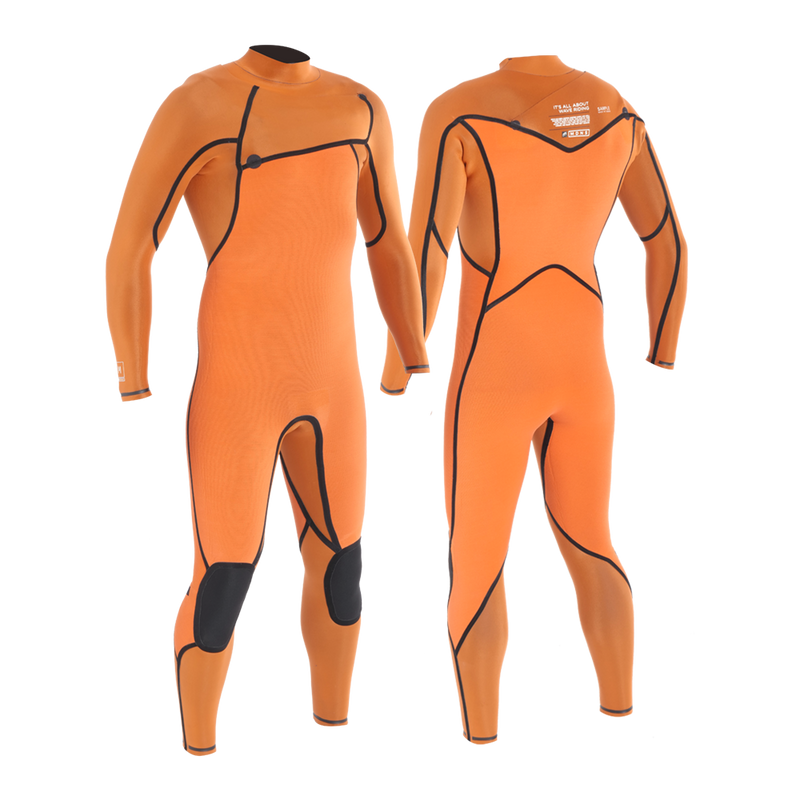 PRIIME MEN 5/4/3 POLAR CHESTZIP STEAMER - MEN'S SUPERSTRETCH WETSUITS