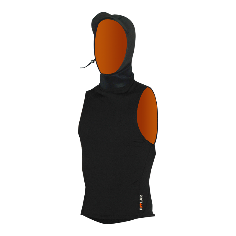 PRIIME 3mm HOODED POLAR VEST - SUPERSTRETCH ACCESSORIES