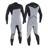 PUURE MEN 2/2 CHESTZIP STEAMER - MEN'S ECO WETSUITS