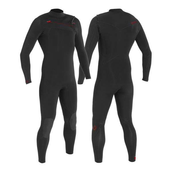 PUURE MEN 4/3 CHESTZIP STEAMER - MEN'S ECO WETSUITS